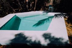 The pool at MangleX, a new boutique hotel in Tulum, Mexico