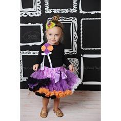 Halloween Bouquet Pettiskirt Set