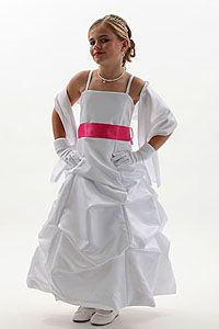 Flower Girl Dress Style 3288- Choice of White or Ivory-BUILD YOUR OWN DRESS! Choice of 139 Sash and