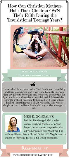 How can you help your teenager own their faith?   Christian Motherhood   Raising Teenagers   Christian Teenagers   Faith   Lifestyle