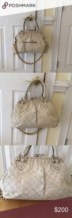 Marc By Marc Jacobs Bag Marc Jacobs blush leather quilted leather minor wear good condition Marc By Marc Jacobs Bags Satchels