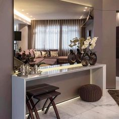 Likes 87 Kommentare Home Dekor Ar Interieur Tipps ( Foyer and Entryway Ideas Dekor Home Interieur Kommentare Likes Tipps Decoration Hall, Entryway Decor, Decorations, Living Room Designs, Living Room Decor, Bedroom Decor, Dining Room, Flur Design, Glam Room