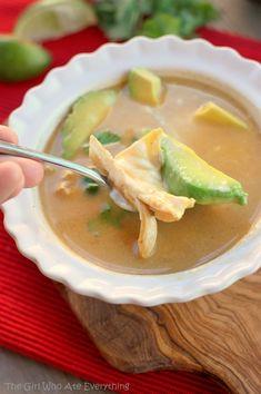 Chicken Tortilla Soup, #Chicken, #Soup, #Tortilla