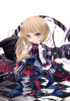 Patchy☆Dolls|@games -アットゲームズ- Manga Anime Girl, Anime Oc, Anime Chibi, Kawaii Anime, Cute Cartoon Pictures, Cartoon Pics, Doll Games, Chibi Characters, Chibi Girl