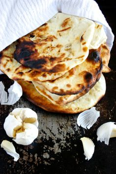 Garlic Naan...absolutely LOVE Naan bread.