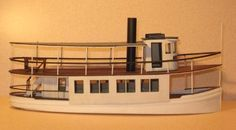 Deerfield River Laser Wooden Boats, Model Ships, Water Crafts, River, Houseboats, Nautical, Character, Toys, Canisters