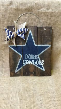 Hey, I found this really awesome Etsy listing at https://www.etsy.com/listing/211865588/dallas-cowboys-wall-hang