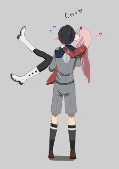 Darling in the Franxx Cute Anime Pics, Cute Anime Couples, Anime Love, Mysterious Girl, Waifu Material, Anime Furry, Zero Two, Darling In The Franxx, Best Waifu