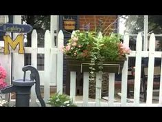 Outdoor Country Decorating Ideas - Yard Tour Summer 2011