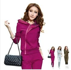 Find More Information about 2014Personality chain women's slim set sweatshirt casual sportswear set spring and autumn clothing plus size,High Quality sportswear jacket,China sportswear skins Suppliers, Cheap clothing tee from shaoning zhao's store on Aliexpress.com