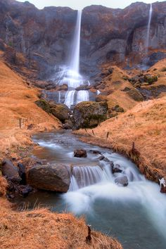 Water Falls Iceland Kim Cannon
