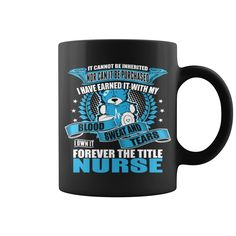 I Own It Forever The Title #Nurse mug, Order HERE ==> https://www.sunfrog.com/Jobs/123479254-678756776.html?6789, Please tag & share with your friends who would love it , #superbowl #xmasgifts #birthdaygifts