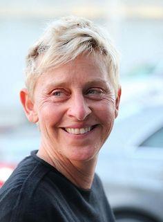 Ellen Degeneres 55. The real deal.