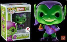 Il fumetto Marvel Green Goblin GLOW IN THE DARK Glitter Funko Pop Vinile esclusivo