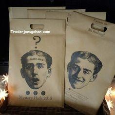 Trader Joe's Reusable Shopping Tote Mystery Pack $2.99 トレーダージョーズのエコバッグ ミステリーパック #トレーダージョーズ #エコバッグ #traderjoes #shoppingtote #mysterypack #reussablebag