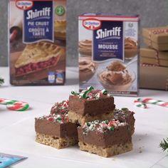 Xmas Desserts, No Bake Desserts, Just Desserts, Chocolate Desserts, Delicious Desserts, Dessert Recipes, Yummy Food, Xmas Food, Christmas Cooking