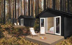 Luontoretriitti rannalla | UTULA NATURE B & B, Finland, Places To Go, Shed, Outdoor Structures, Outdoor Decor, Nature, Home Decor, Naturaleza