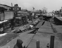 Anchorage Alaska Earthquake, 1964