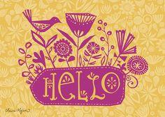 Hello by Claire Mohjer
