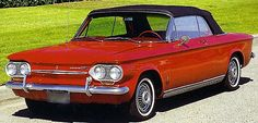 1963 Chevy Corvair   Chevy's answer to the compact car craze