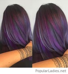 some-purple-highlights