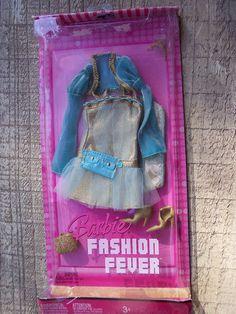 2007 Barbie Fashion Fever Dress Handbag Shoes Tiara New   eBay