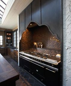 Dark and Dramatic Kitchens and Baths | The Perfect Bath