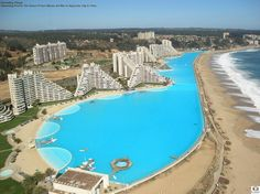 Swim in the Largest Pool in the World