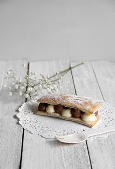 Chocolate and Passionfruit Mille Feuille | A Swoonful of Sugar, July 2013