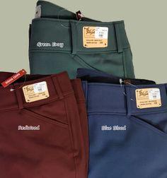 more Tailored Sportsmen breech colors