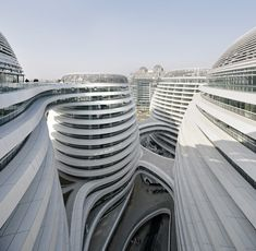 Galaxy Soho in Beijing by Zaha Hadid Architects
