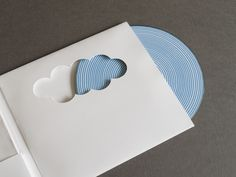 Over the Rainbow by Eva Blanes, via Behance. Great die cut.