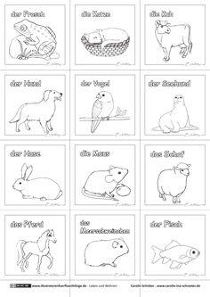 Kostenloses Arbeitsblatt zum Thema farm animals (Tiere auf