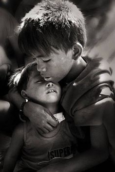 love and tenderness, protective brother......