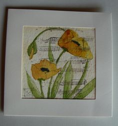 watercolor cards 9-12-2011 002 by wildflowerhouse, via Flickr