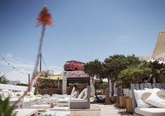 7 Formentera Beach Clubs & Seaside Restaurants To Visit Ibiza, Es Pujols, Seaside Restaurant, Spanish Cuisine, Astro Turf, Beach Bars, Refreshing Drinks, Beach Club, Caribbean