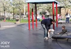 If anything's guaranteed to work parents of small children into a complete and instant panic, it's mention of kidnappers lurking at local playgrounds. To wit: a YouTube video by JoeySalads aiming to warn moms and dads of such abductions is quickly going viral, drawing more than a million views and steadily climbing since being posted on Saturday.