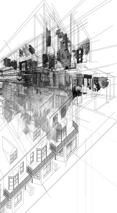 House of Leaves_: Exploration A by Peter Baldwin, via Behance