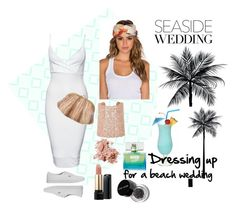 """""""All Dress Up for beach wedding"""" by chong-yanting on Polyvore"""