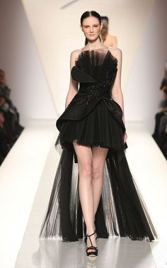 Yet another black dress... Fausto Sarli SS 2012