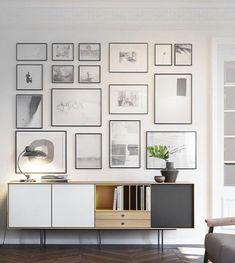 hur planerar man en fotovägg