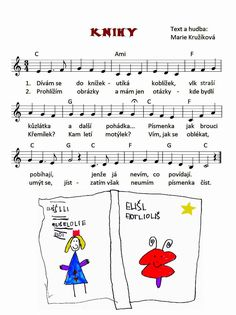 Music Do, Kids Songs, Music Notes, Sheet Music, Kindergarten, Preschool, Learning, Books, Literatura
