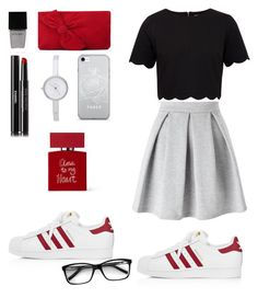 """Sweet❤❤❤"" by swwweety ❤ liked on Polyvore featuring Bella Freud, adidas, Miss Selfridge, Ted Baker, L.K.Bennett, DKNY, Witchery and Chanel"