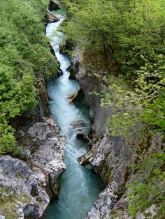 The Soca or Isonzo is a river that flows through western Slovenia and northeastern Italy. It is one of the most beautiful and cleanest rivers in Europe. River Sports, Online Tickets, Trip Advisor, Most Beautiful, National Parks, Scenery, Europe, Waterfalls, Italy
