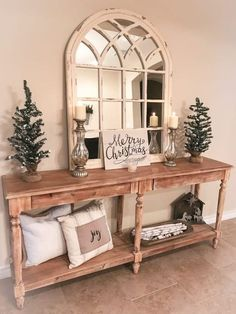 Are you looking for pictures for farmhouse living room? Browse around this site for very best farmhouse living room images. This kind of farmhouse living room ideas seems to be totally fantastic. Farmhouse Side Table, Farmhouse Decor, Modern Farmhouse, Farmhouse Ideas, Country Farmhouse, American Farmhouse, Antique Farmhouse, Home Decor Trends, Diy Home Decor