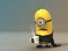 """This was originally entitled, """"Monday Minion."""" I'd like to call him """"Arrival at Work Minion. Humor Minion, Minions Quotes, Funny Minion, Minions Images, Minion Sayings, Lol, Haha Funny, Hilarious, Funny Stuff"""