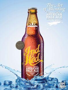 IndHED™ Beer Identity & Package Design | Abduzeedo Design Inspiration