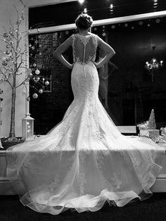 wedding dress model