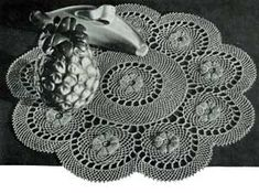 Ring of Roses Doily S-896 | Free Crochet Patterns