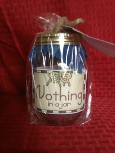 """""""Nothing in A Jar""""Gift Did They Say They Wanted Nothing for B Day Valentines 